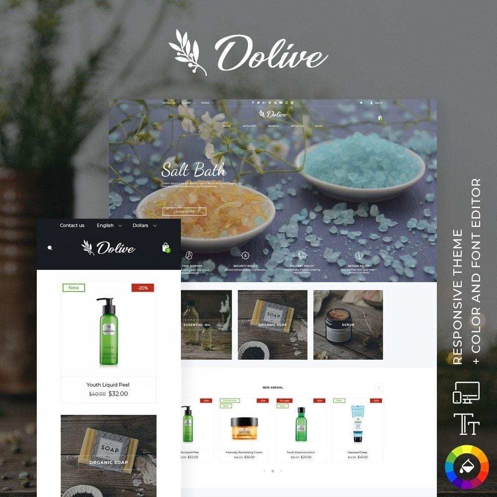 theme - Saúde & Beleza - Dolive Cosmetics - 1