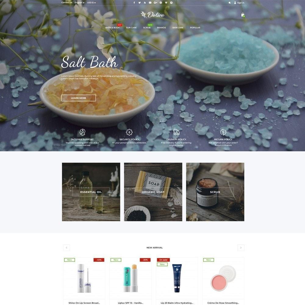 theme - Saúde & Beleza - Dolive Cosmetics - 2