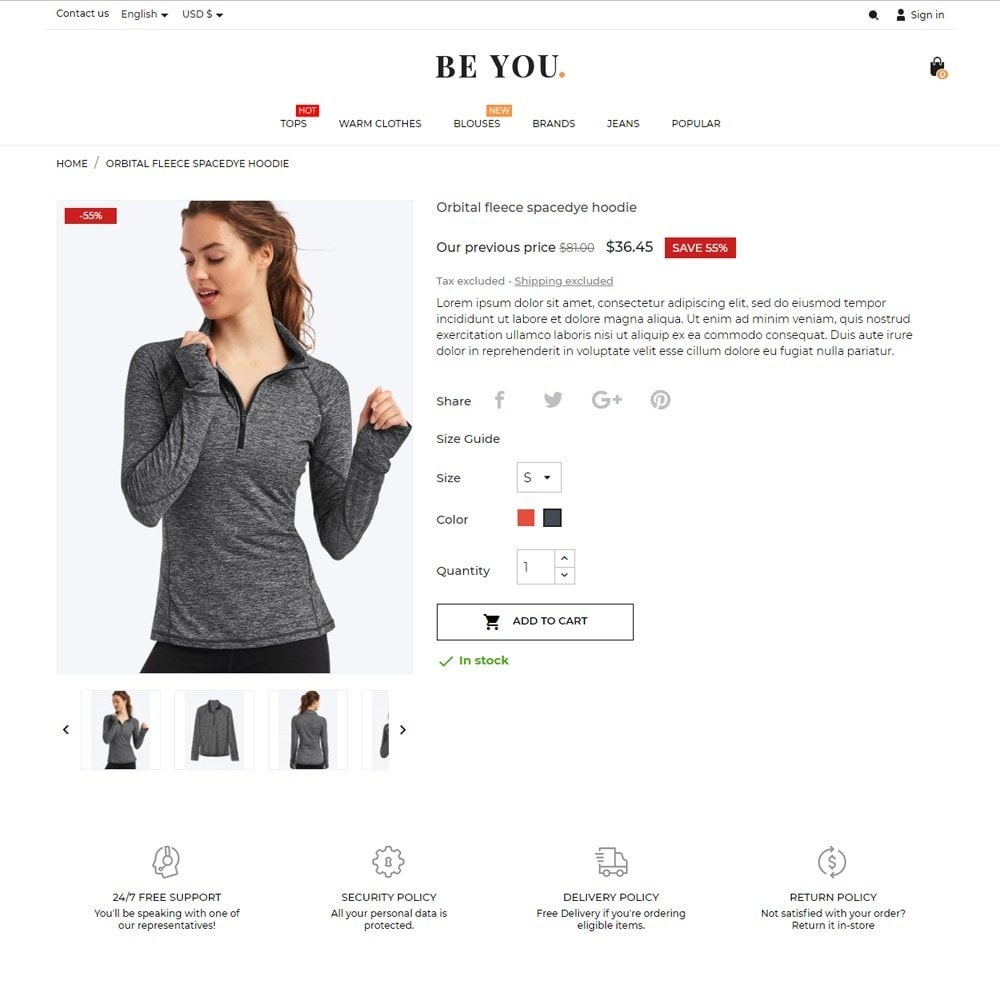 theme - Moda y Calzado - Be You Fashion Store - 5