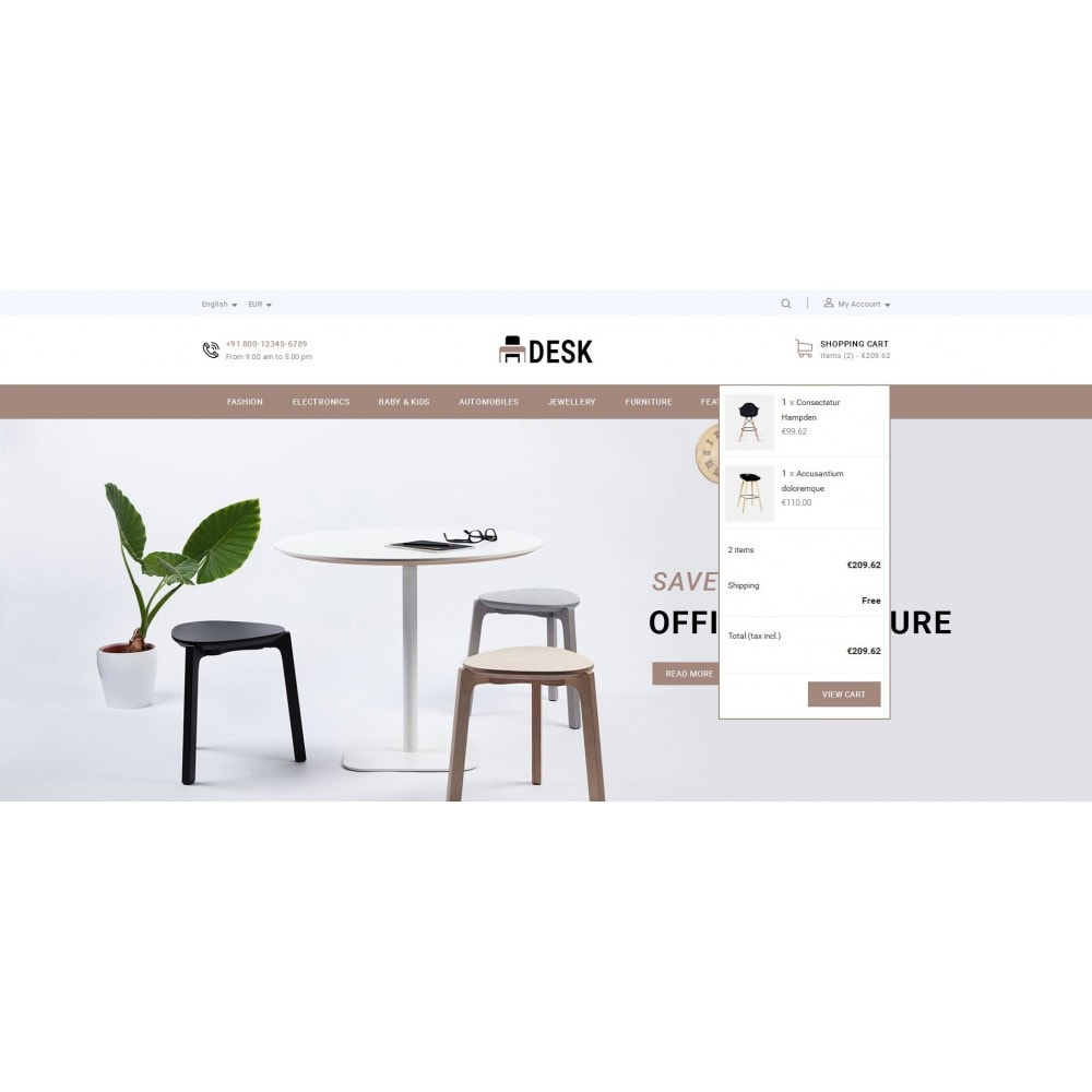 theme - Huis & Buitenleven - Desk - Furniture Store - 7