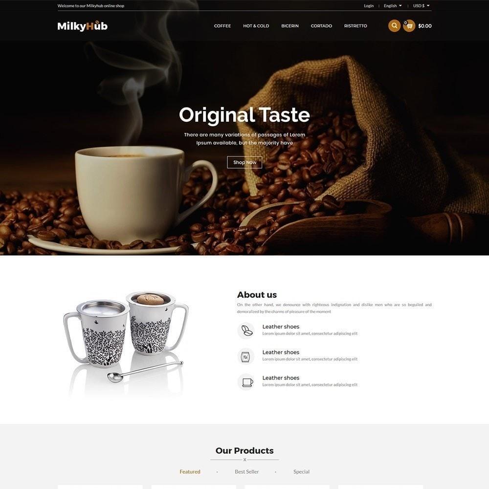 theme - Żywność & Restauracje - Milkyhub Drink - Sklep z kawą - 4