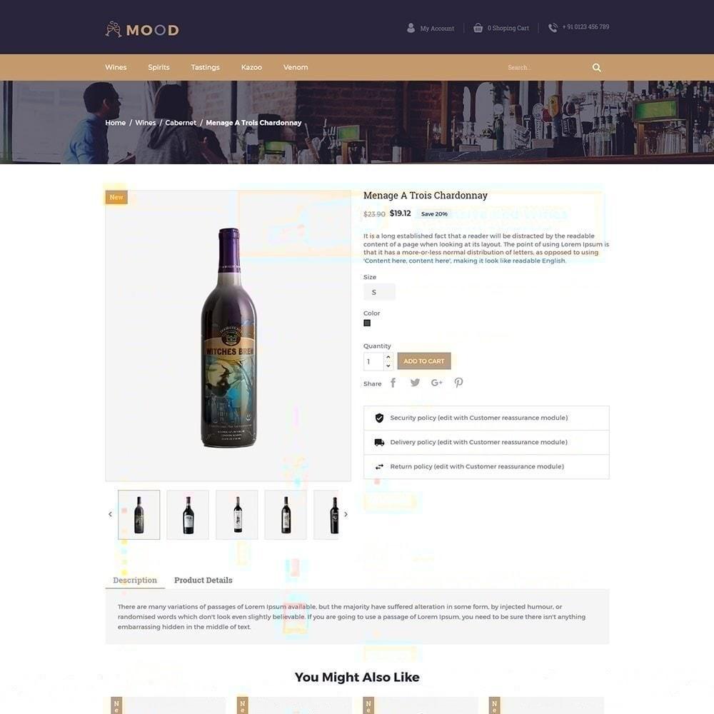 theme - Bebidas & Tabaco - Mood Wine - Loja de Bebidas - 6