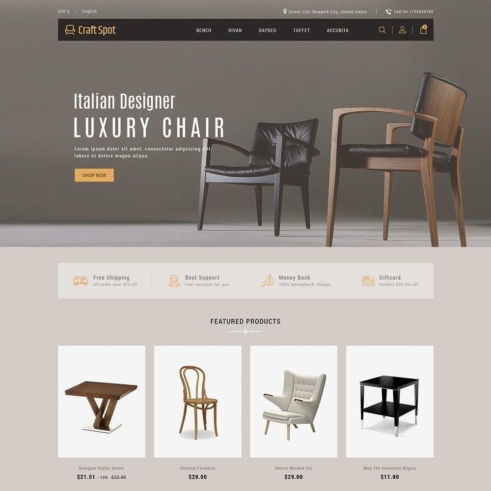 theme - Hogar y Jardín - Muebles artesanales - Tienda de madera - 4