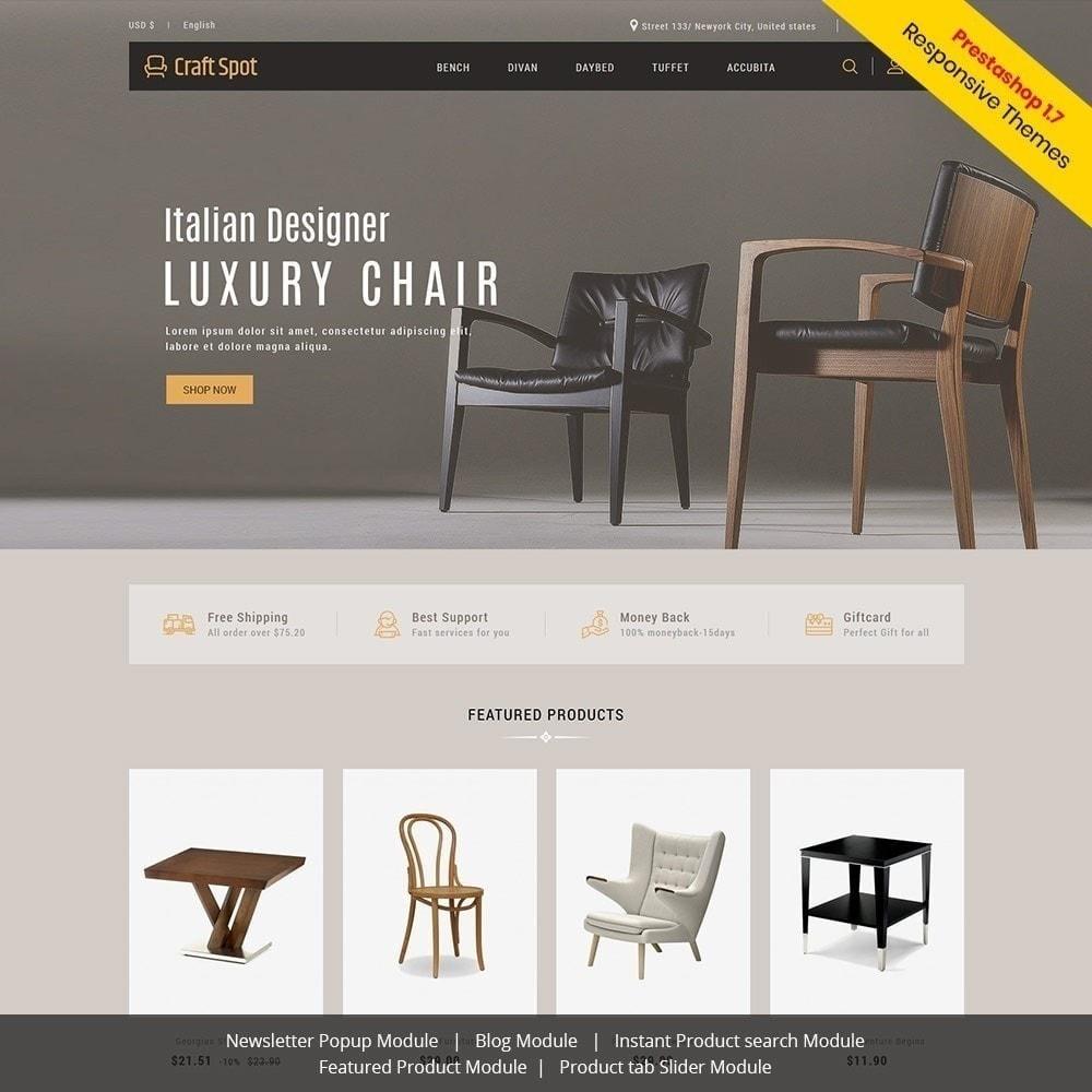 theme - Дом и сад - Craft Furniture - Деревянный Магазин - 2