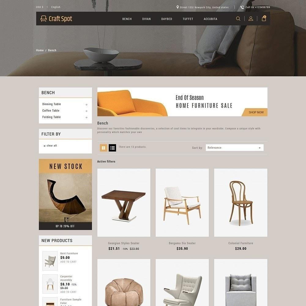 theme - Дом и сад - Craft Furniture - Деревянный Магазин - 4