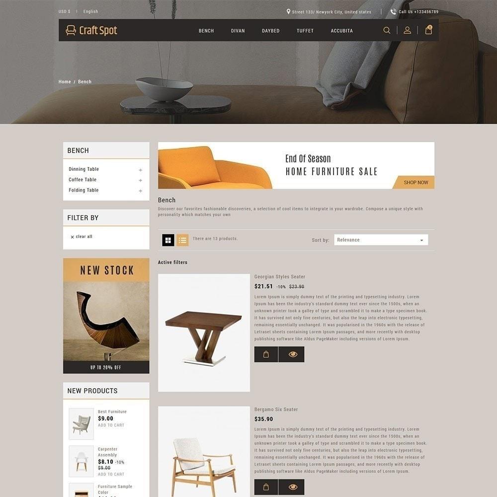 theme - Дом и сад - Craft Furniture - Деревянный Магазин - 5