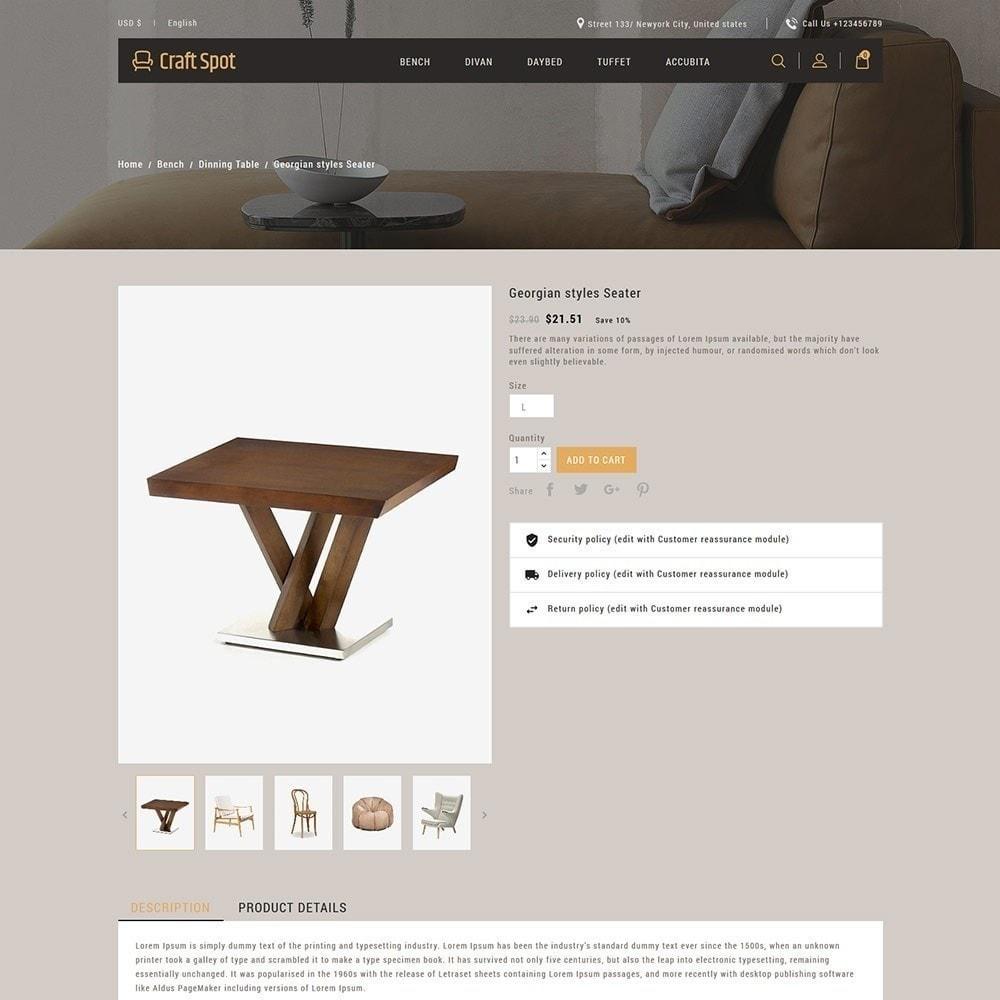 theme - Дом и сад - Craft Furniture - Деревянный Магазин - 6
