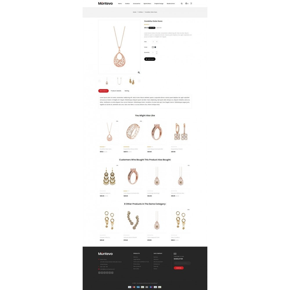 theme - Ювелирные изделия и Аксессуары - Montevo - Jewelry Store - 4