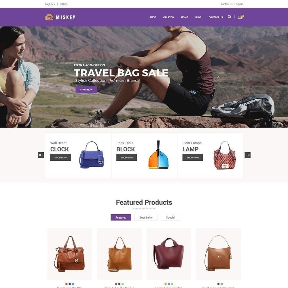 theme - Moda & Calzature - Miskey Bag - Negozio di accessori alla moda - 3