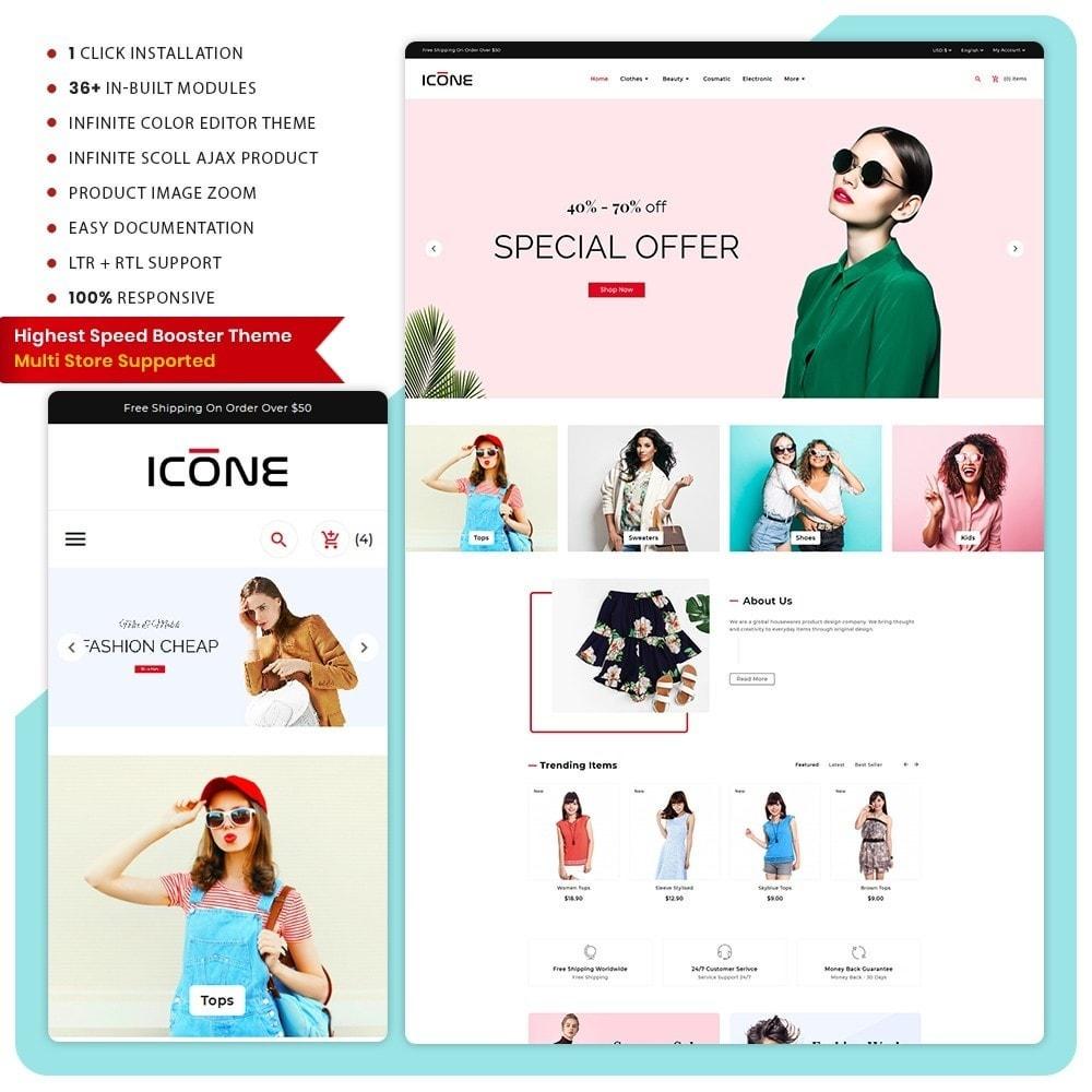 theme - Fashion & Shoes - Moda Icone -  Fashion Big Mall - 1