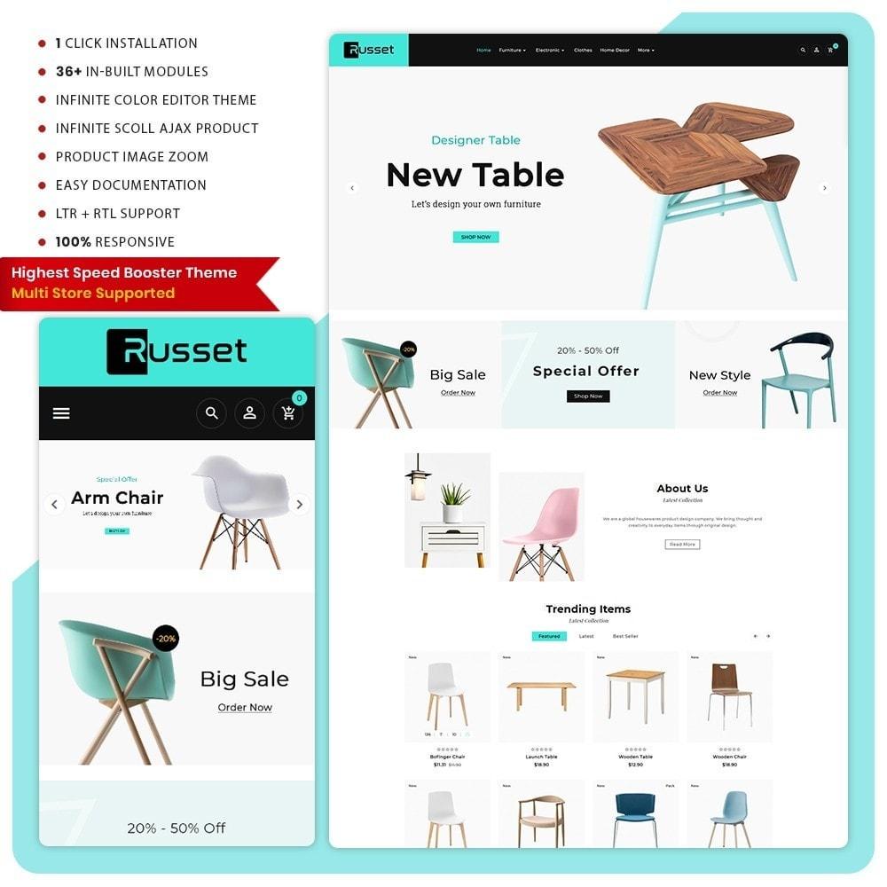 theme - Huis & Buitenleven - Möbel Russet  - Furniture Super Mall - 1