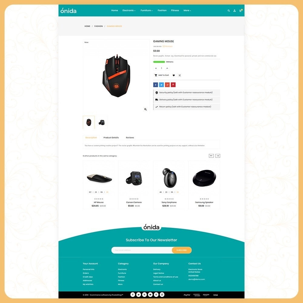 theme - Electronique & High Tech - Elettro Onida - Elecetroni Store - 5