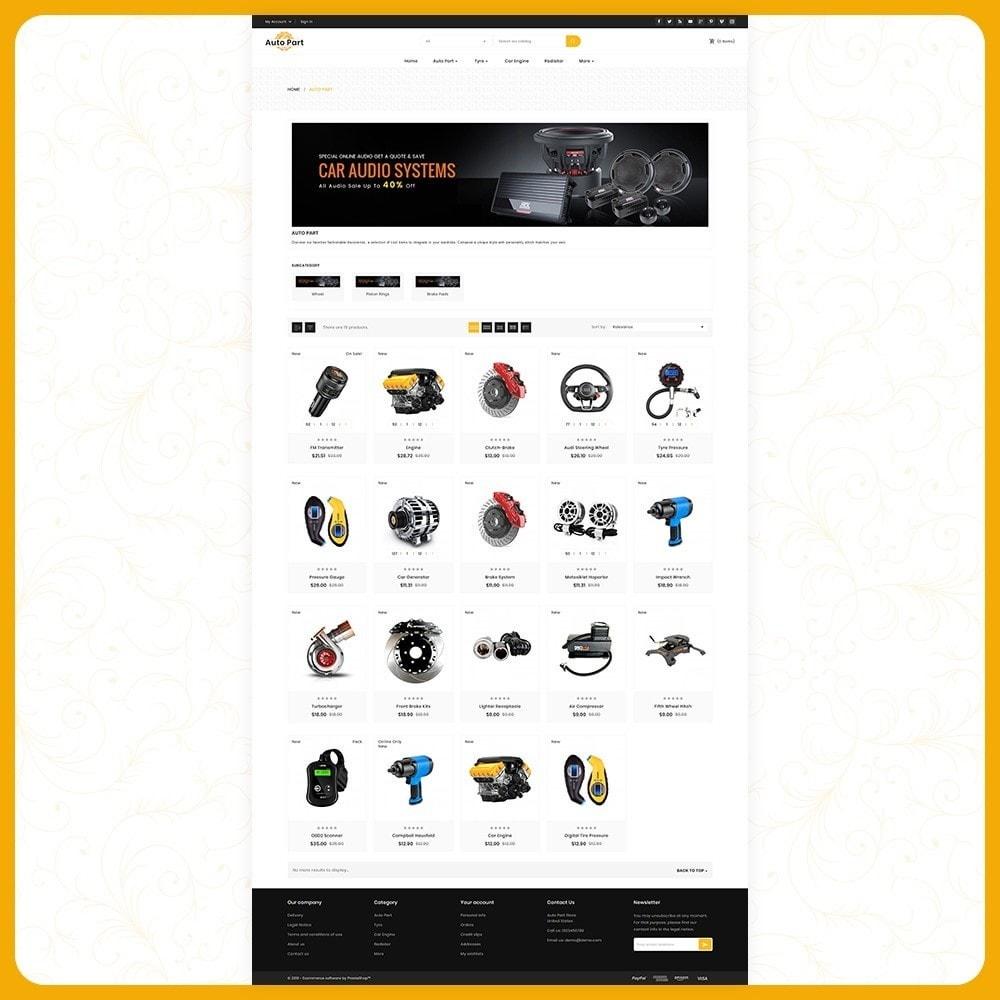 theme - Auto's & Motoren - Auto Part Shop - 3