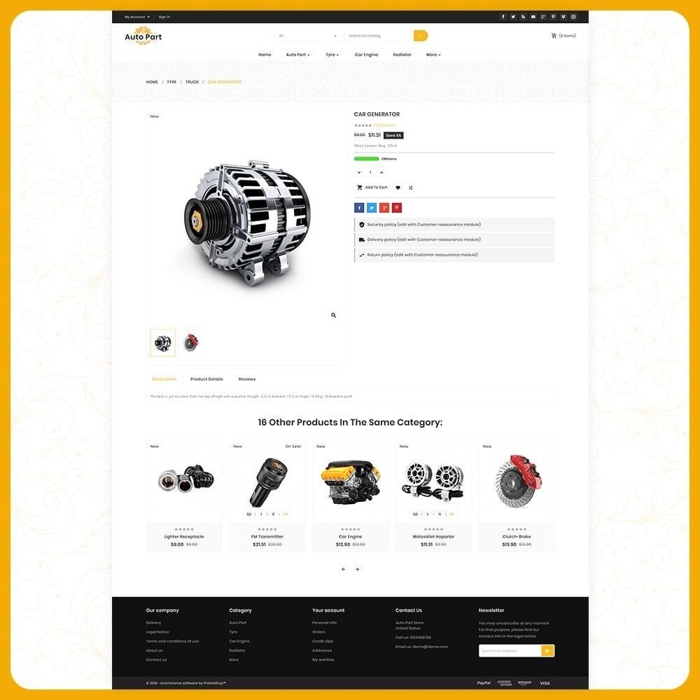 theme - Auto's & Motoren - Auto Part Shop - 4