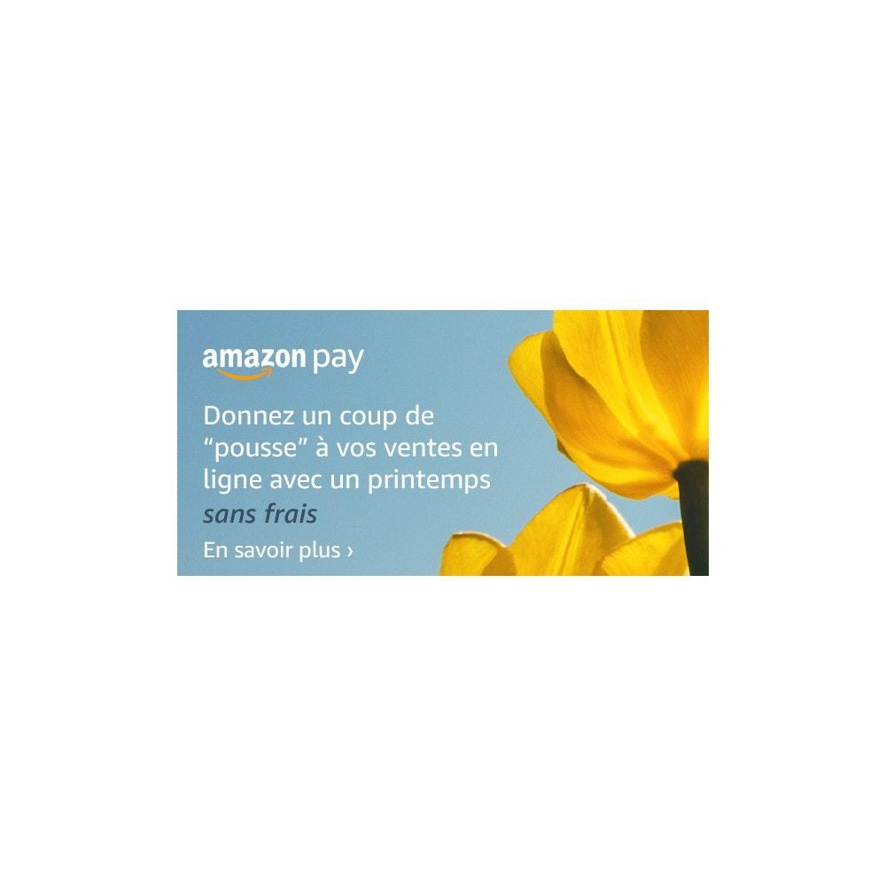 module - Paiement par Carte ou Wallet - Amazon Pay - 2