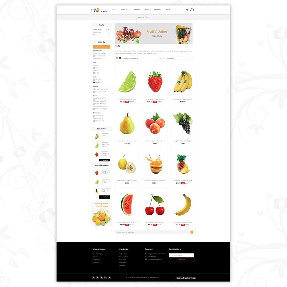 theme - Lebensmittel & Restaurants - Fresh Organic Store - 3