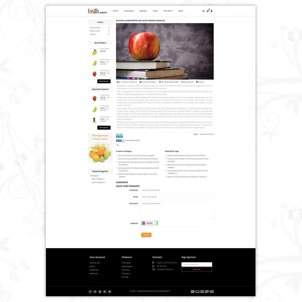 theme - Lebensmittel & Restaurants - Fresh Organic Store - 7
