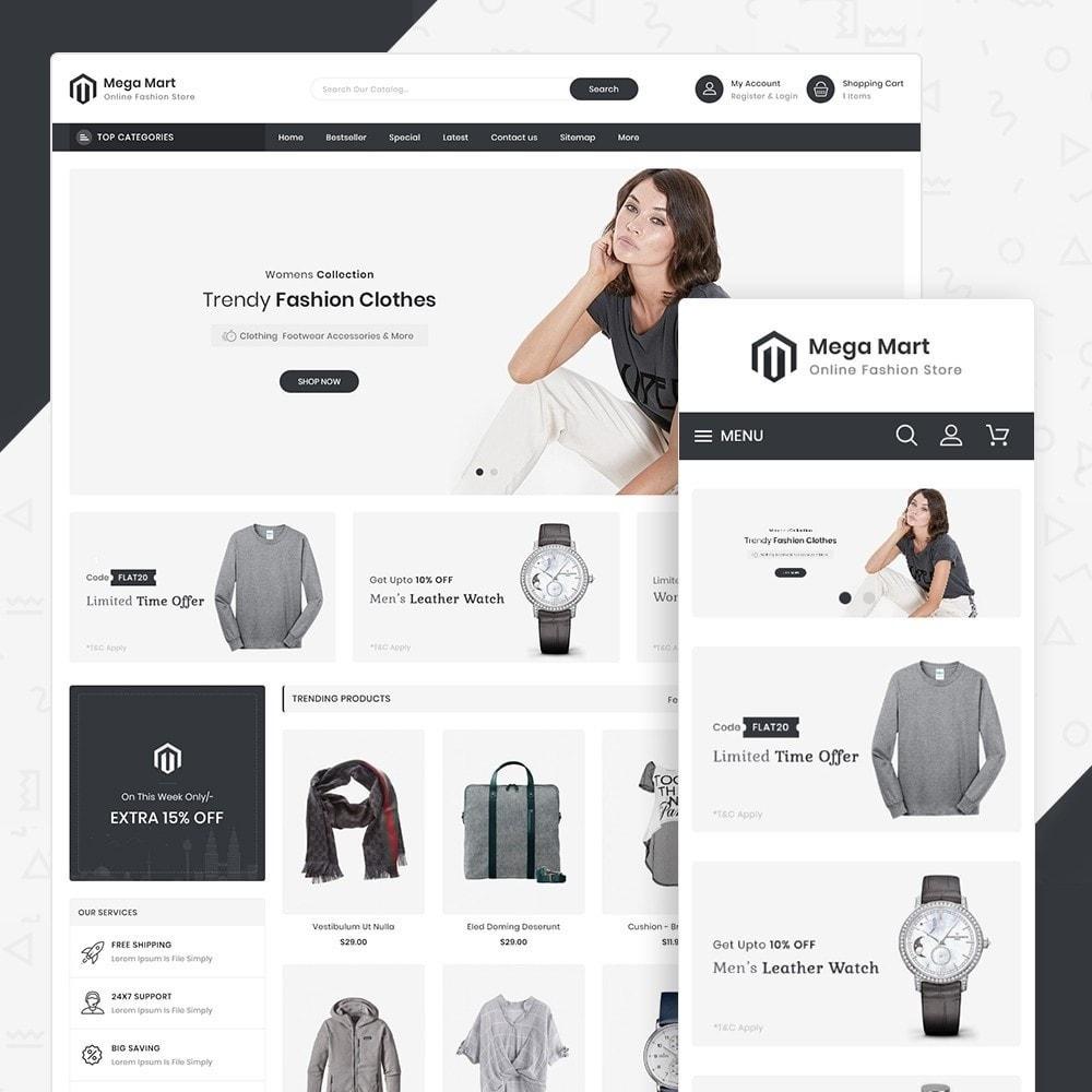 theme - Moda & Obuwie - MegaMart Fashion Store - 1