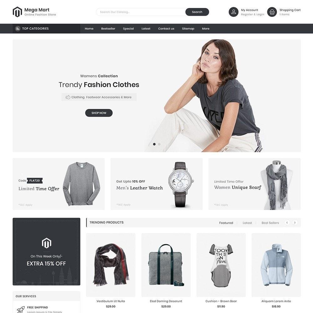 theme - Moda & Obuwie - MegaMart Fashion Store - 2