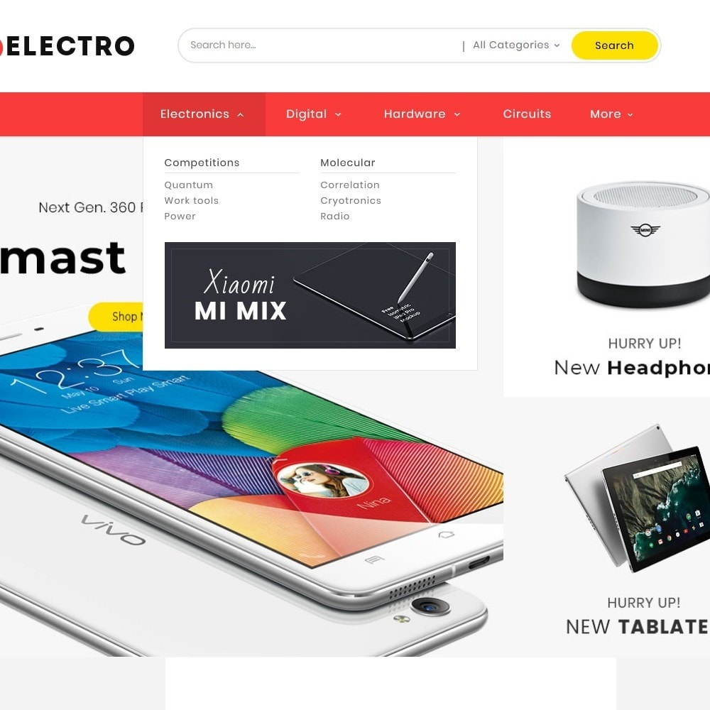 theme - Elettronica & High Tech - Electro Mega Appliances Shop - 9