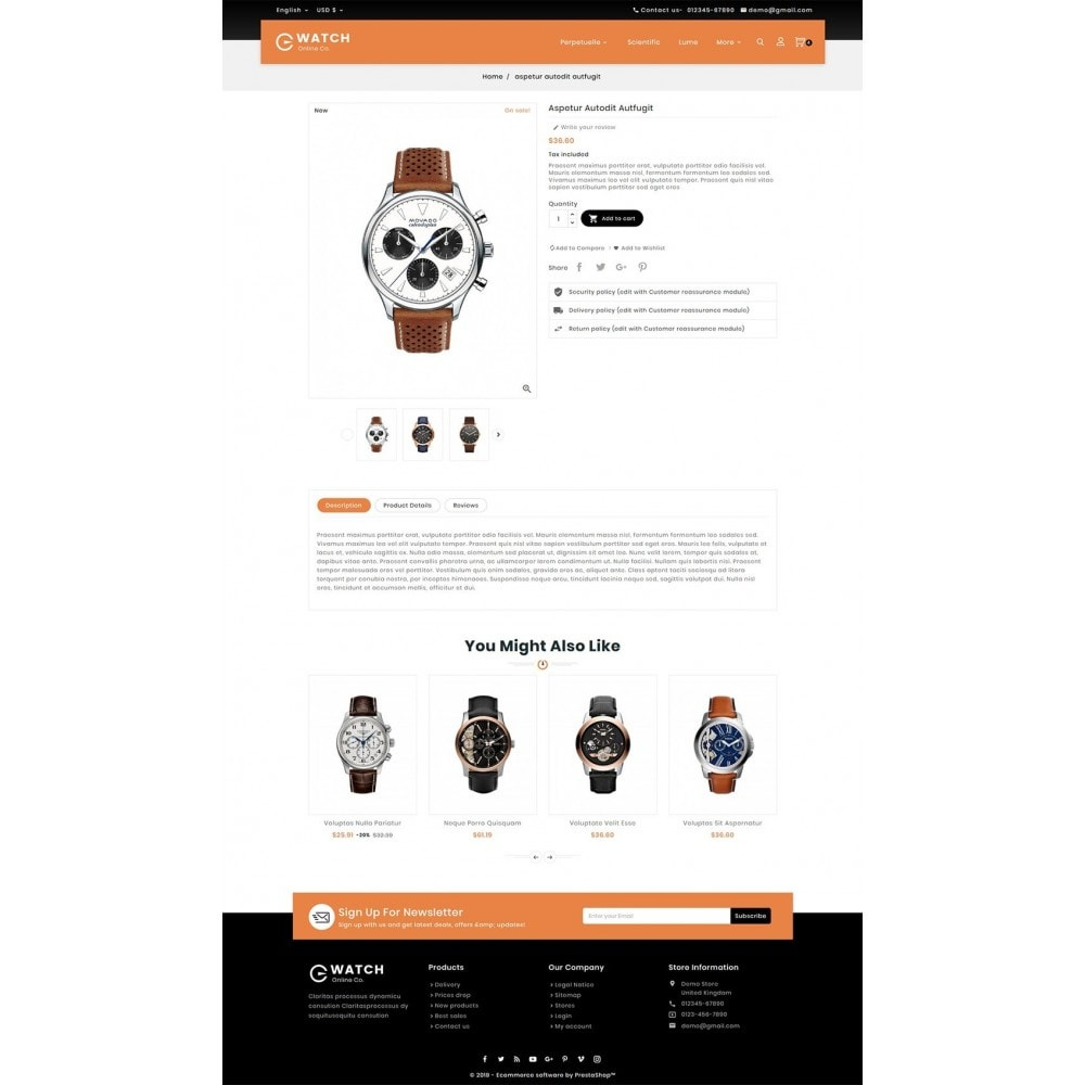 theme - Schmuck & Accesoires - Watch & Imitation Shop - 5