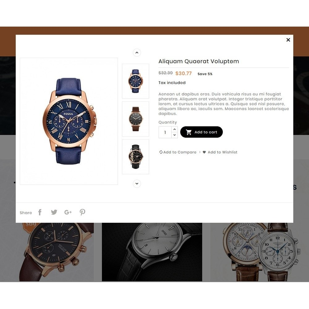 theme - Schmuck & Accesoires - Watch & Imitation Shop - 8