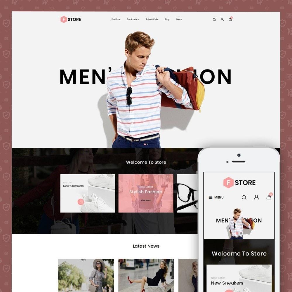 theme - Мода и обувь - FStroe - Stylish Fashion - 1
