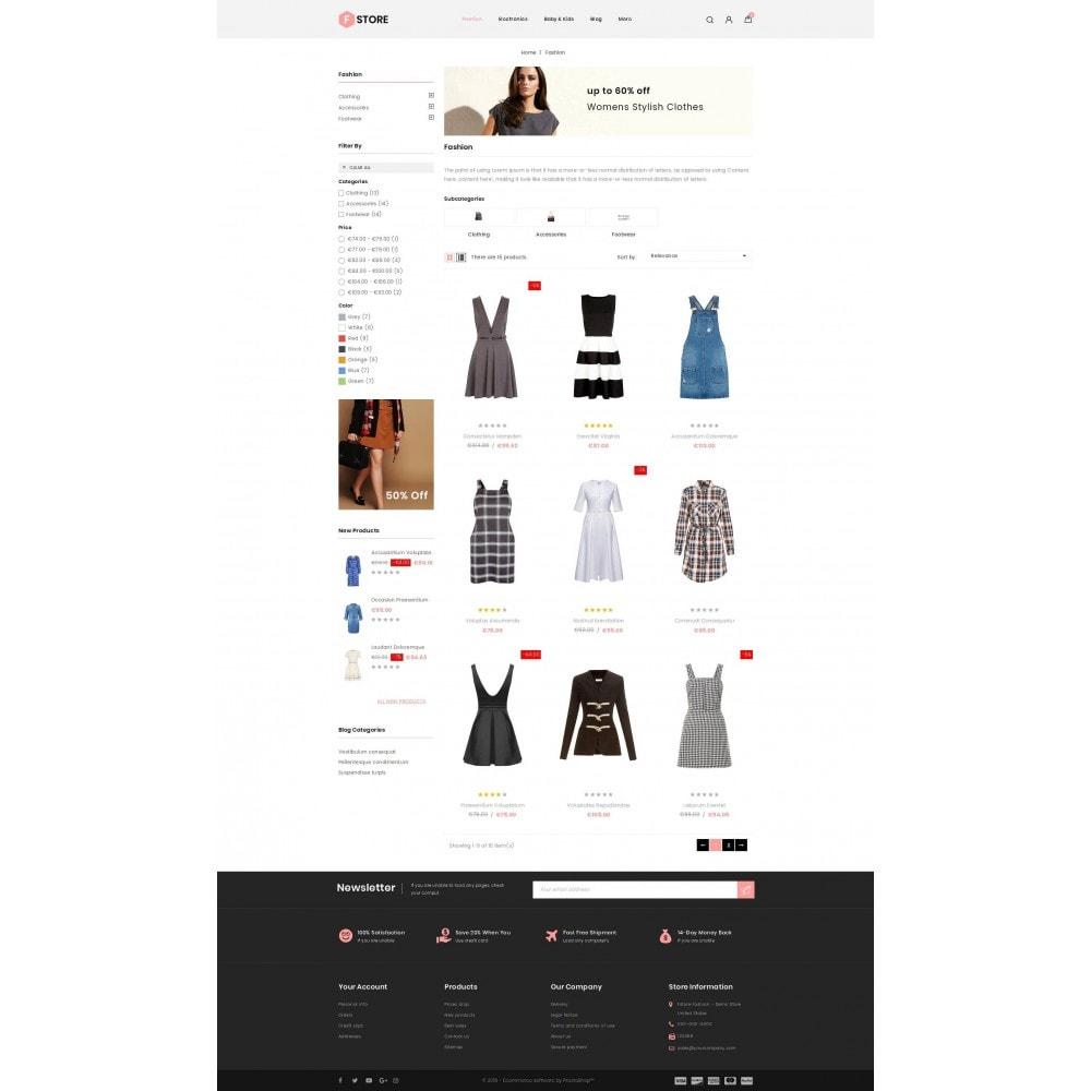 theme - Fashion & Shoes - FStroe - Stylish Fashion - 3