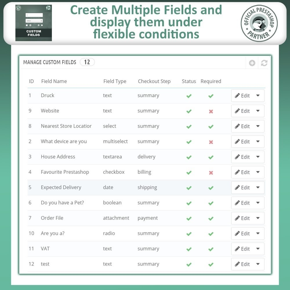 module - Registration & Ordering Process - Custom Fields, Add Extra Fields to Checkout | Order - 9