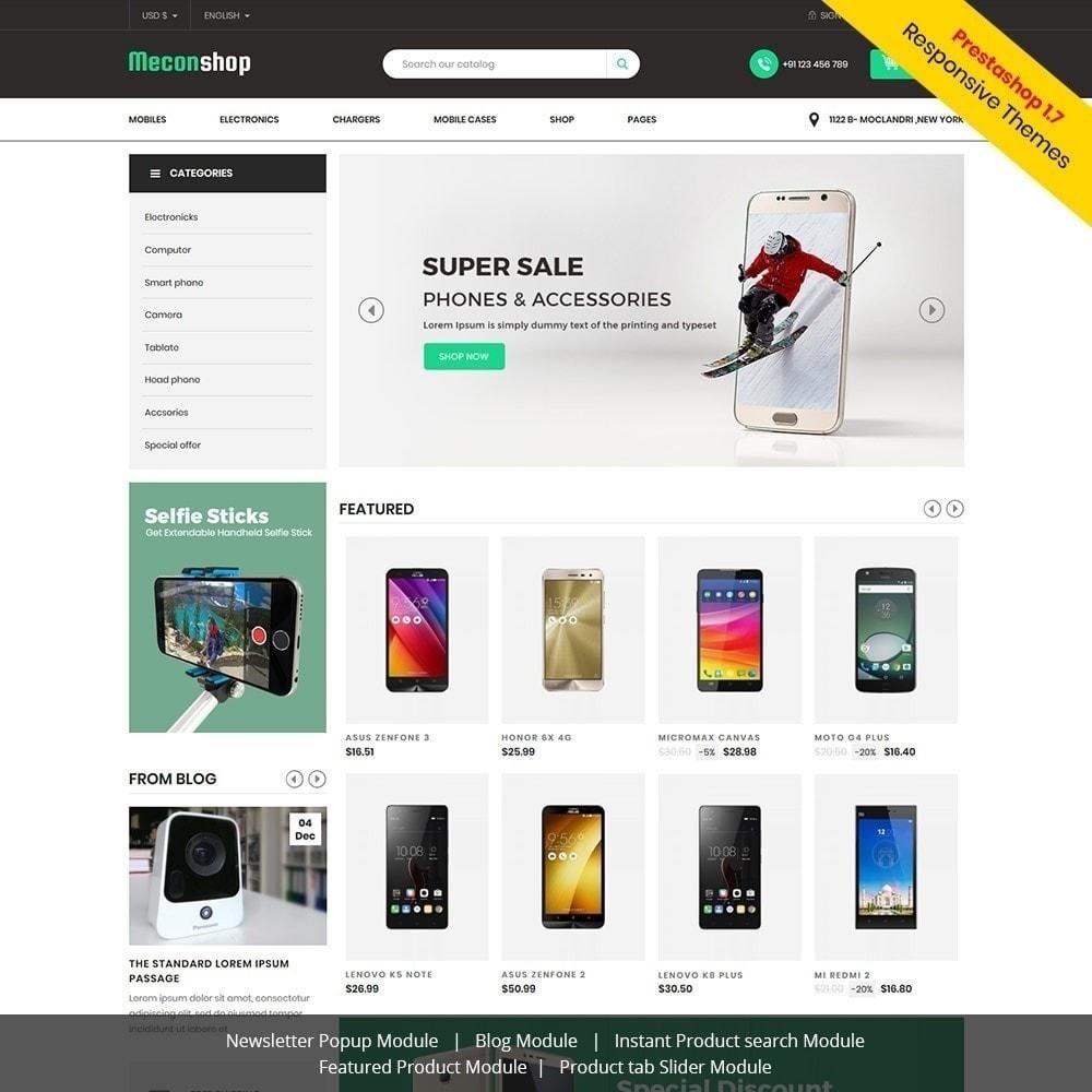 theme - Electrónica e High Tech - Mecon Mobile - Tienda de electrónica - 2