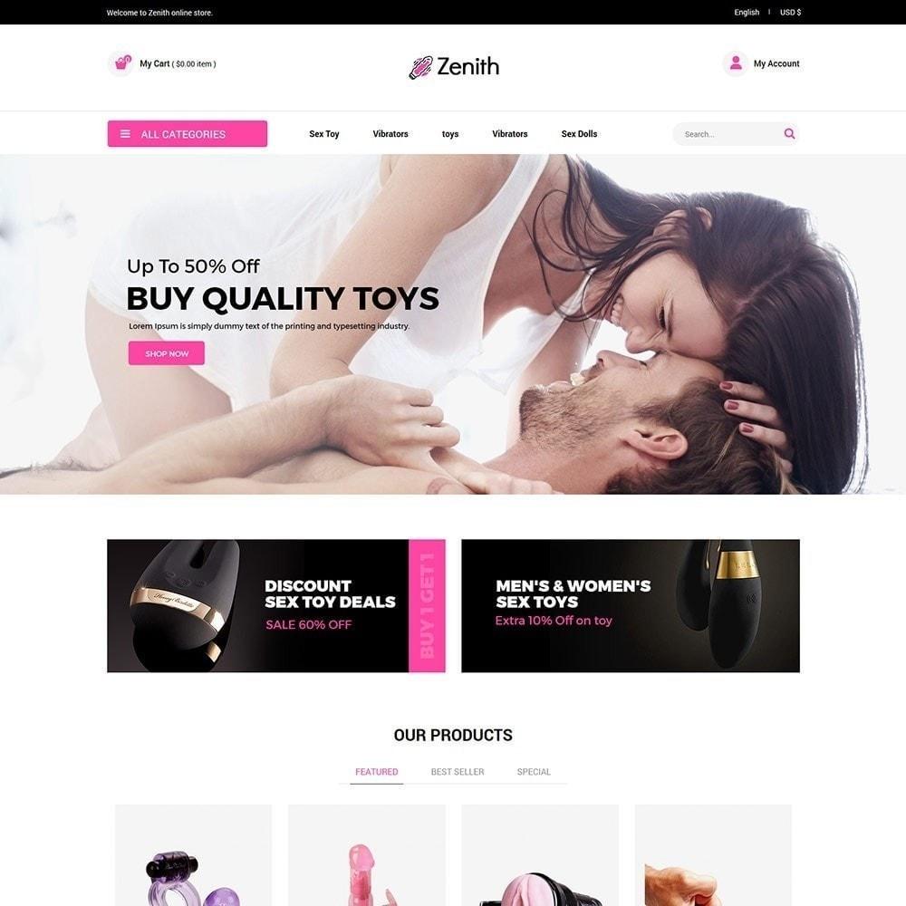 theme - Lingerie & Adulti - Zenith Lingerie - Adult Sex Store - 4
