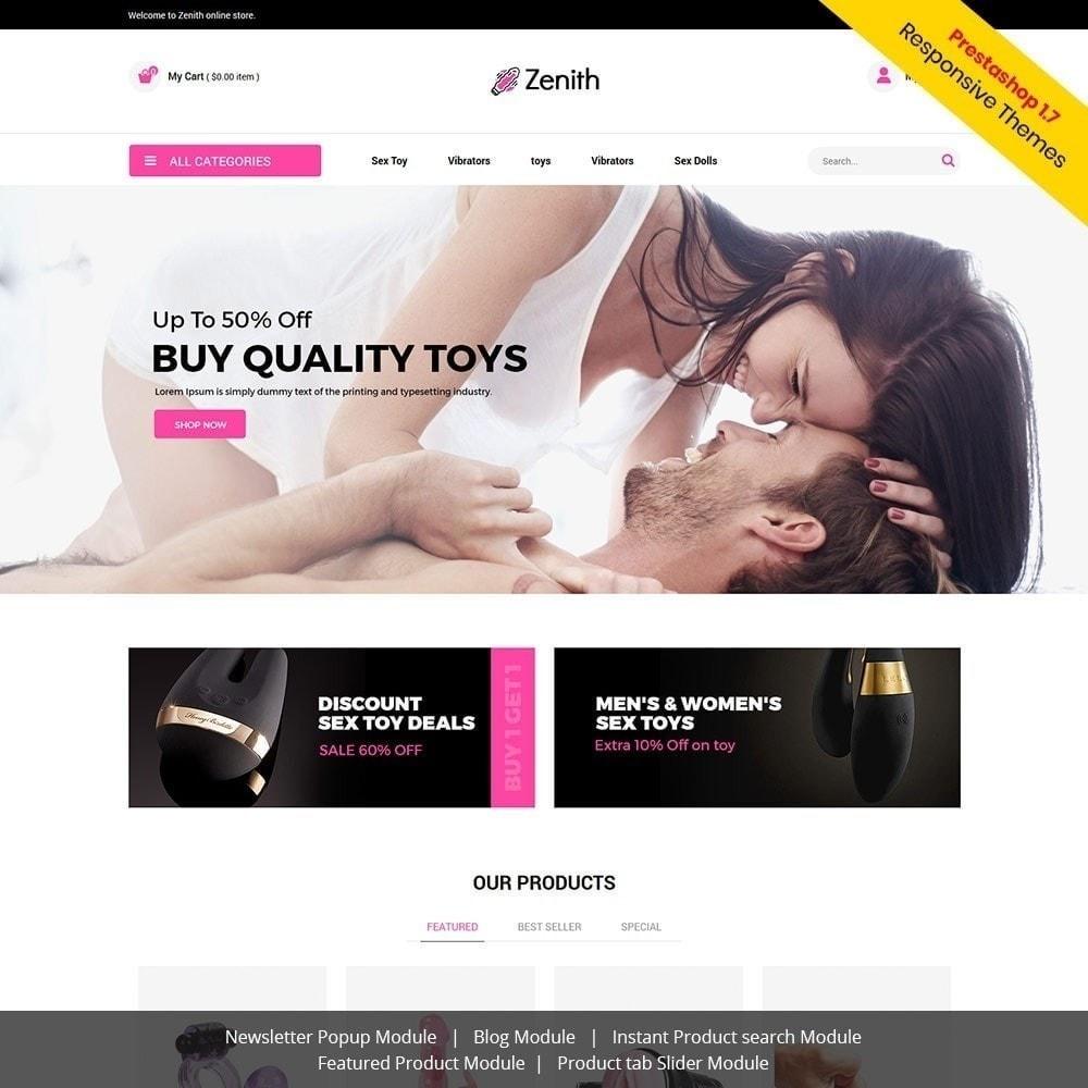 theme - Нижнее белье и товары для взрослых - Zenith Lingerie - Секс-шоп для взрослых - 4