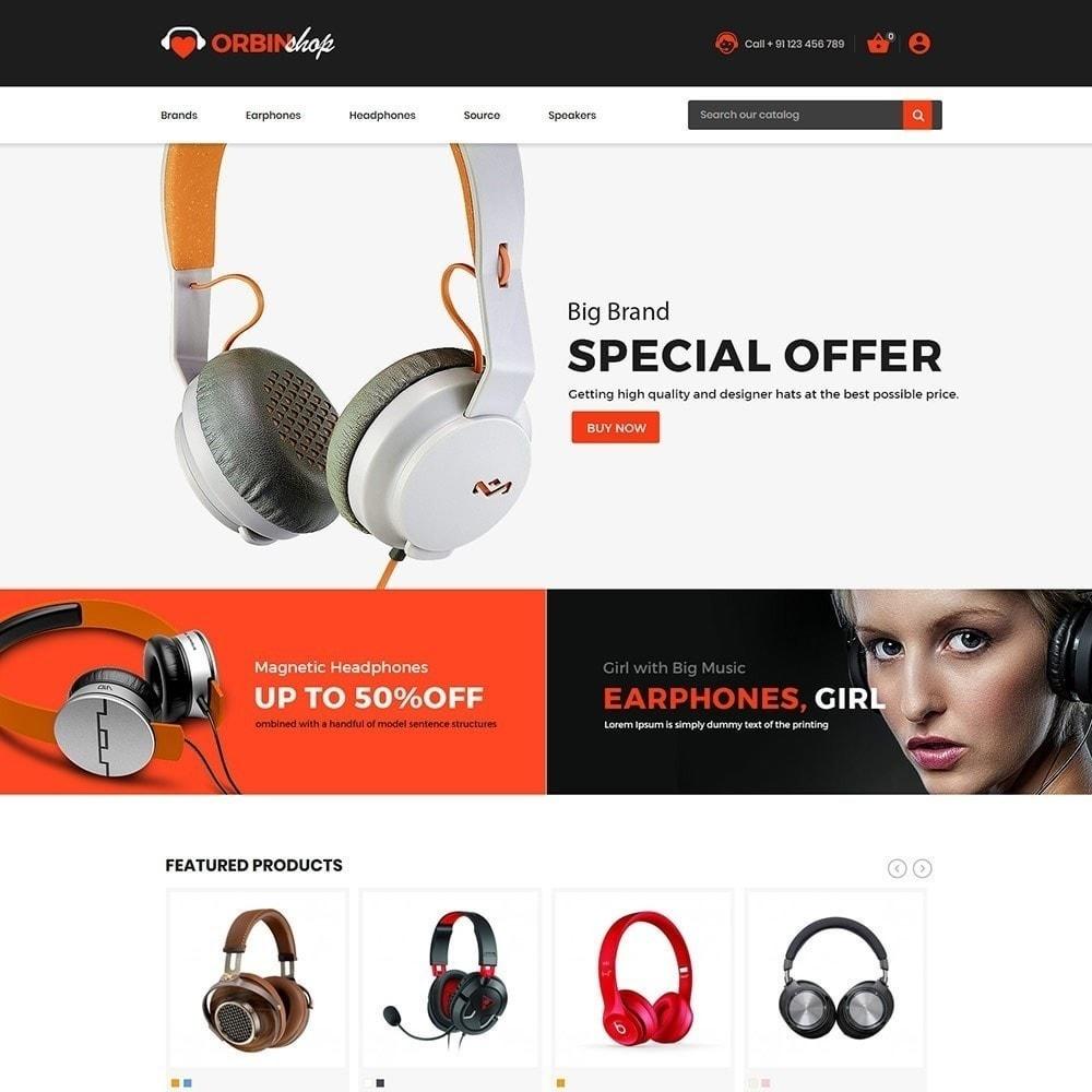 theme - Electronique & High Tech - Orbin Electronics Mobile - Boutique d'informatique - 4