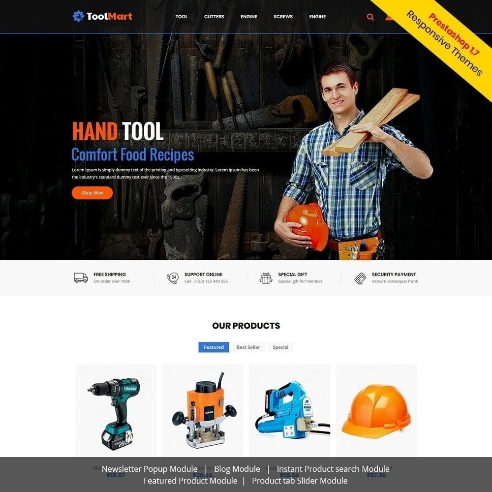 theme - Autos & Motorräder - Toolmart-Werkzeuge - Auto Car Store - 4