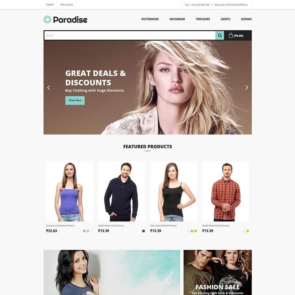 theme - Moda & Calzature - Paradise Fashion - Apparel Store - 2