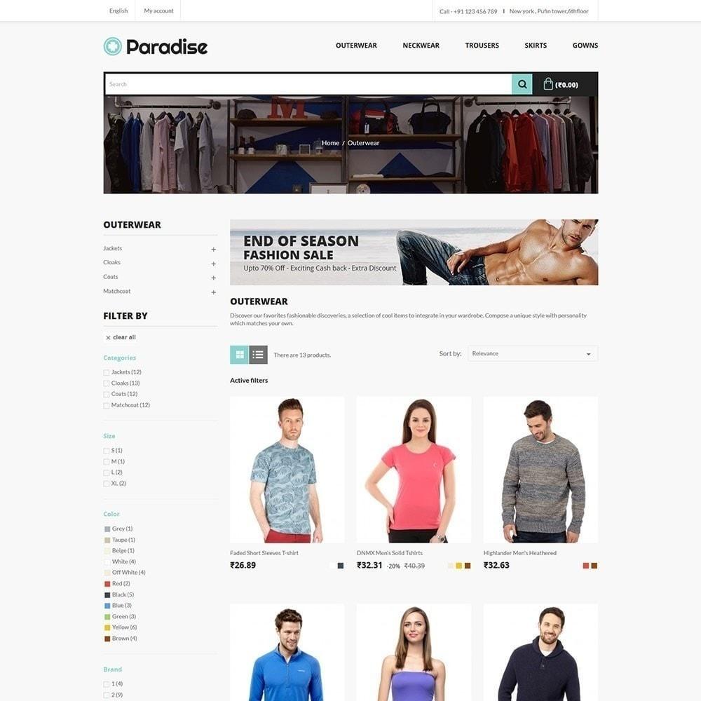theme - Mode & Schoenen - Paradise Fashion - Apparels Store - 3