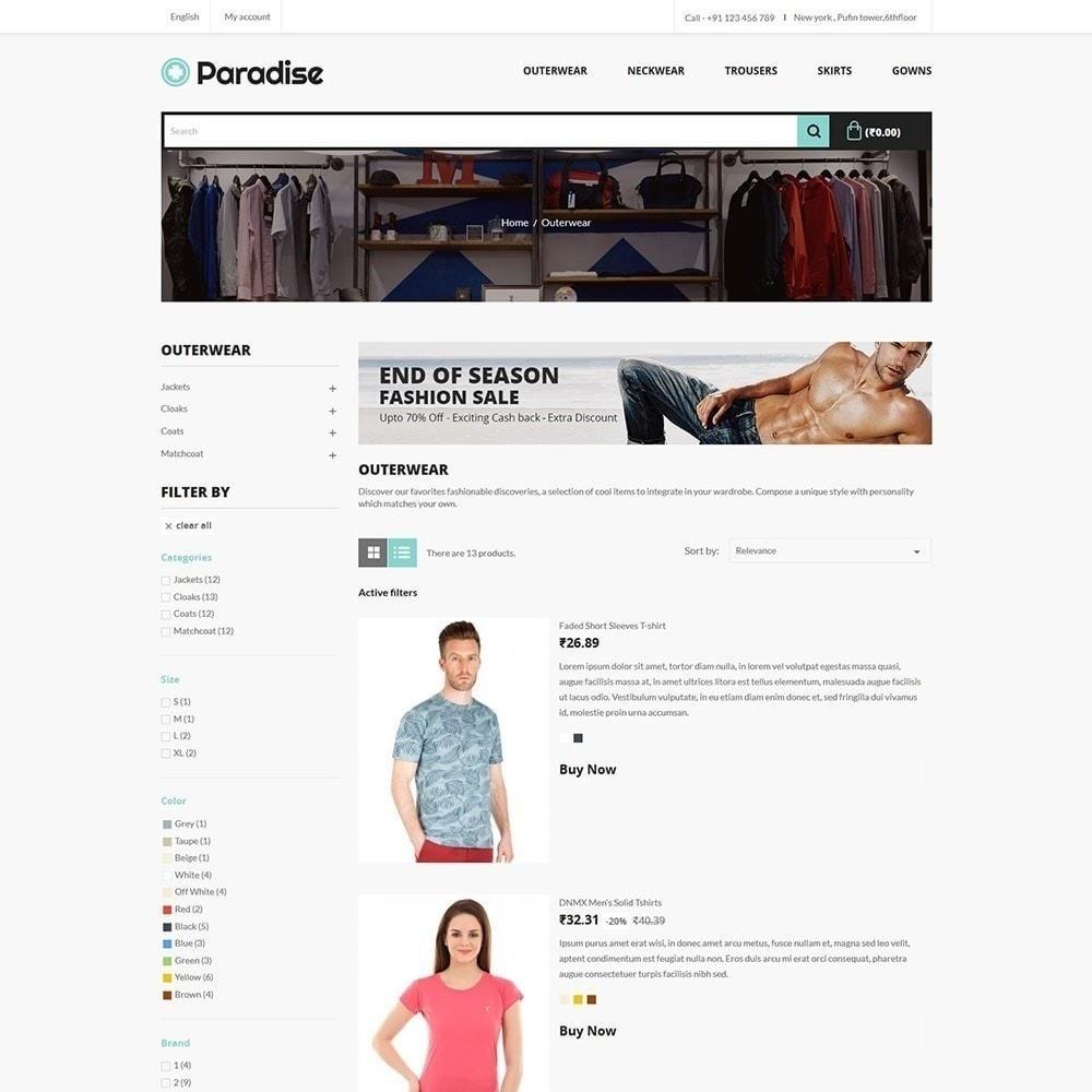 theme - Mode & Schoenen - Paradise Fashion - Apparels Store - 5