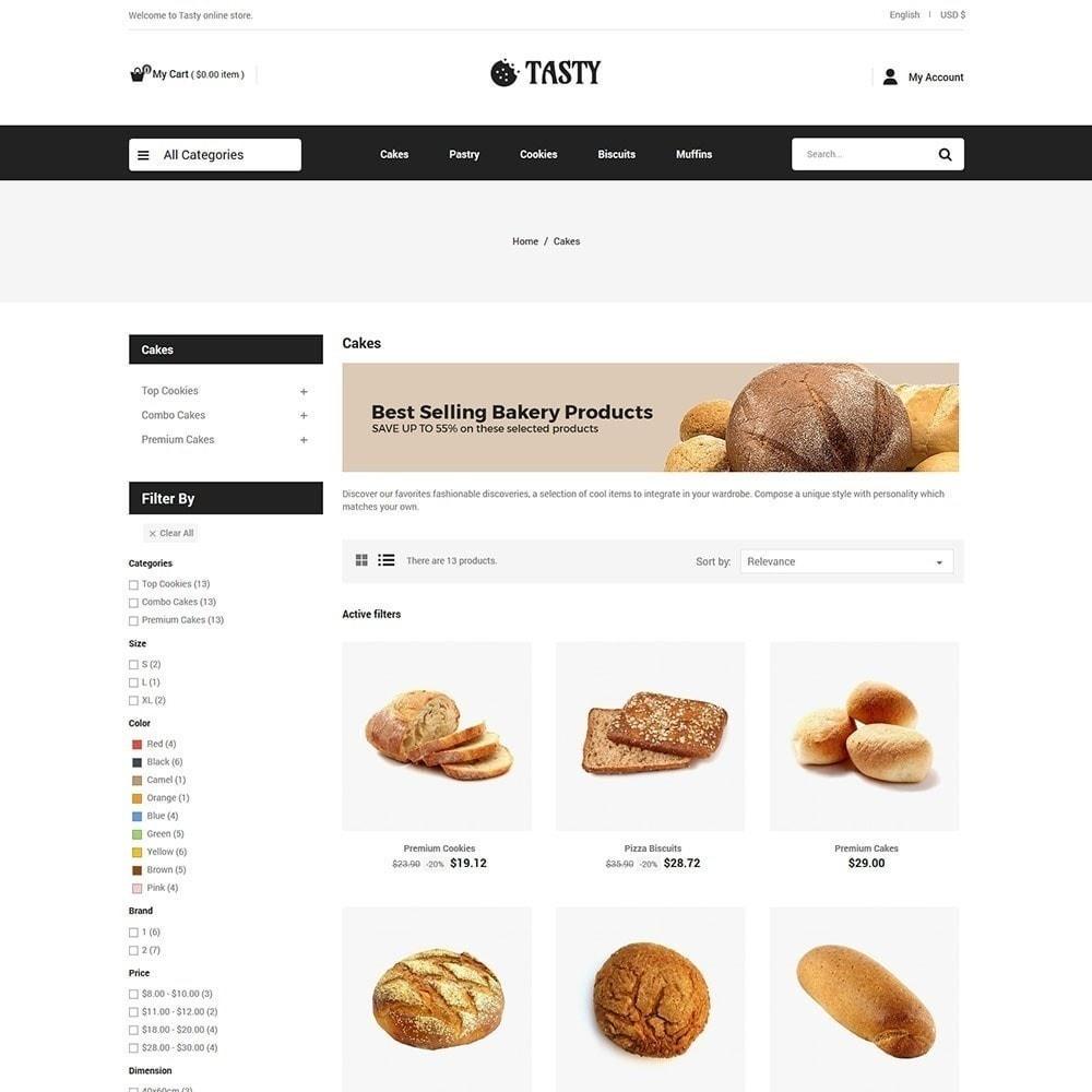 theme - Alimentos & Restaurantes - Comida saborosa - Padaria Pizza Store - 3