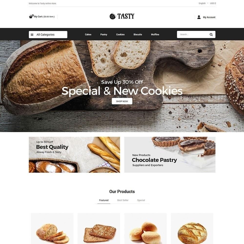 theme - Alimentos & Restaurantes - Comida saborosa - Padaria Pizza Store - 4