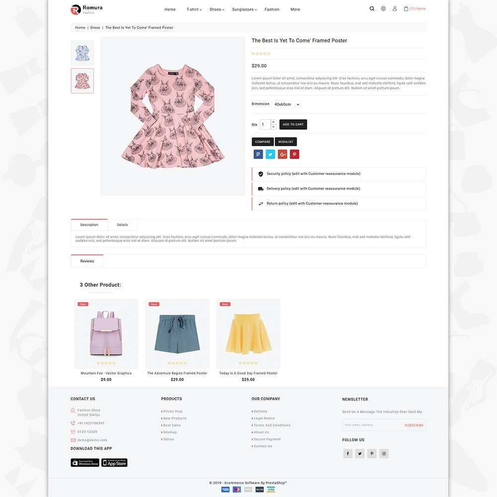 theme - Fashion & Shoes - Romura - The Fashion Store - 4
