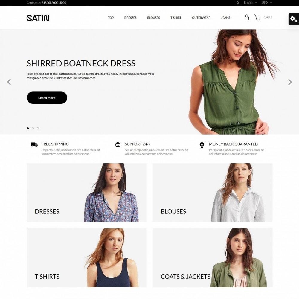 theme - Moda & Calçados - Satin Fashion Store - 2