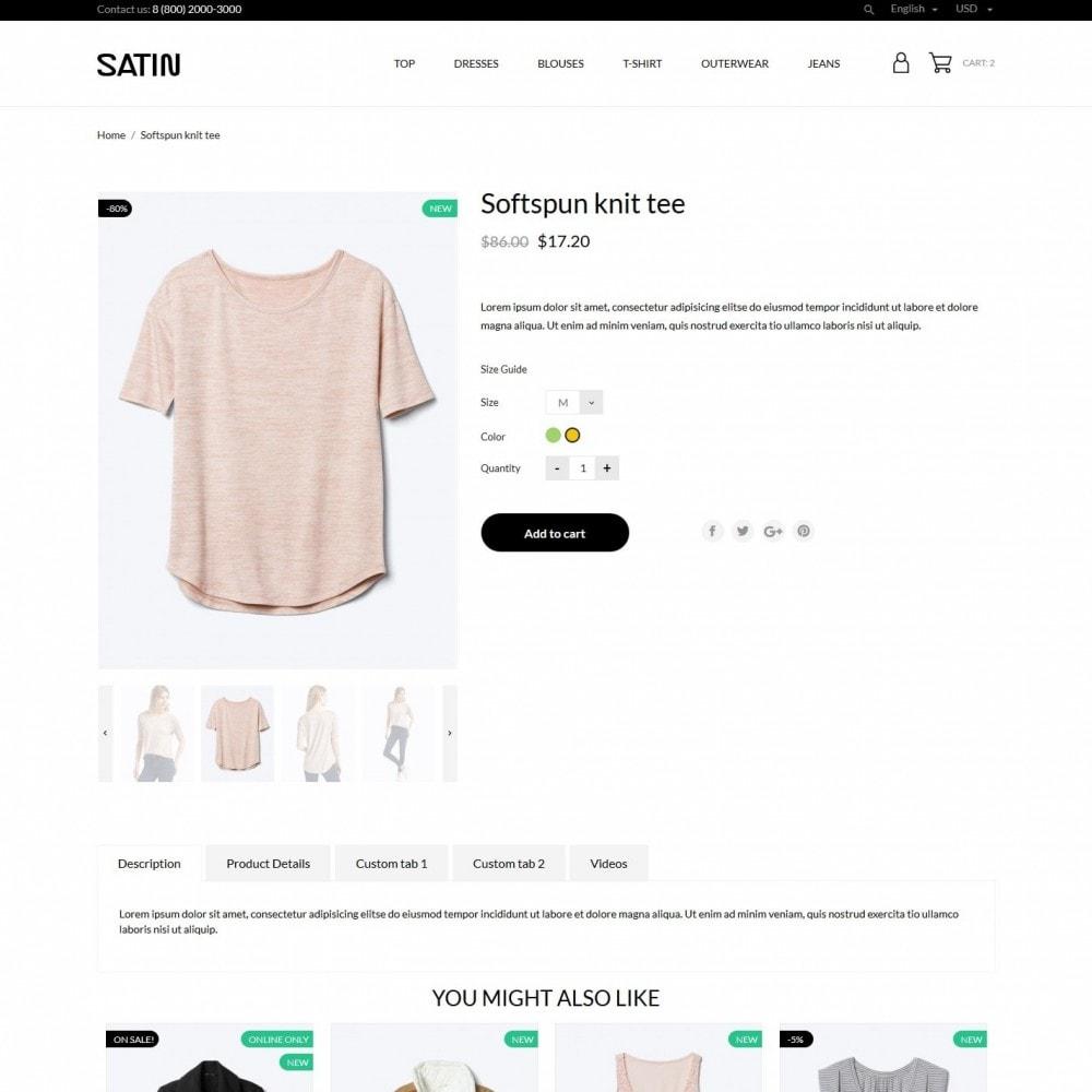 theme - Fashion & Shoes - Satin Fashion Store - 6