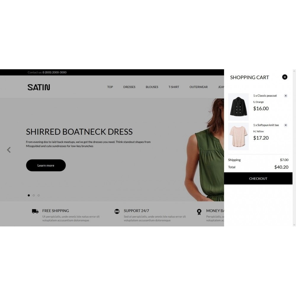 theme - Moda & Calçados - Satin Fashion Store - 7