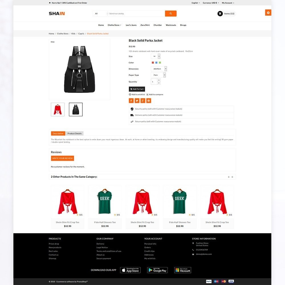 theme - Mode & Schoenen - Shain Fashion Stylish Stop - 5