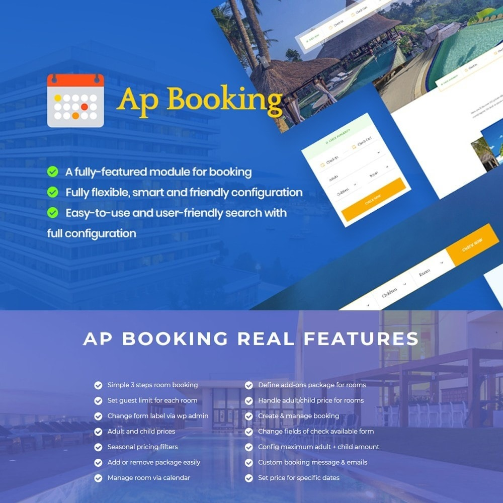module - Reservation & Rental System - Ap Booking - 1