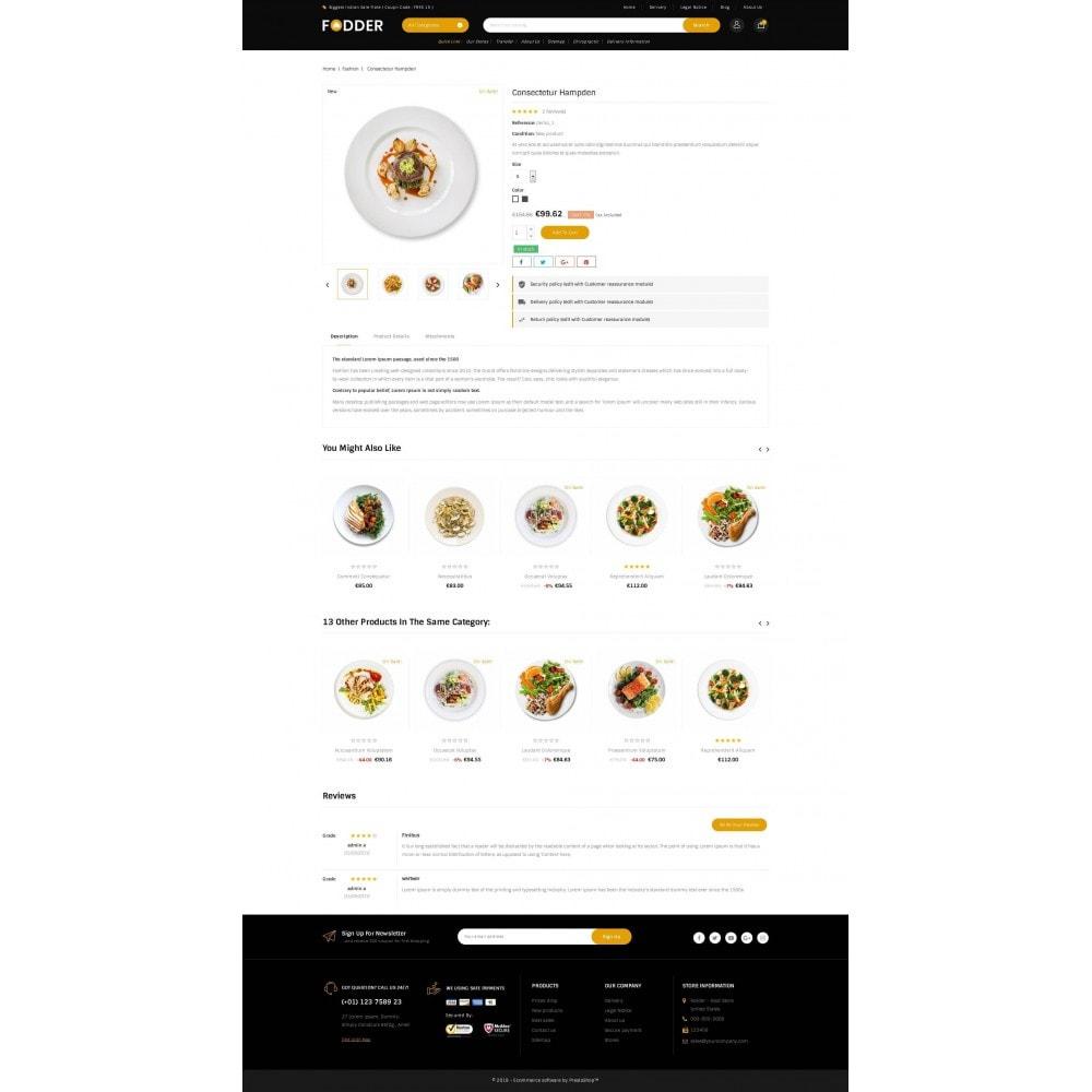 theme - Food & Restaurant - Fodder - Online Restaurant Store - 5