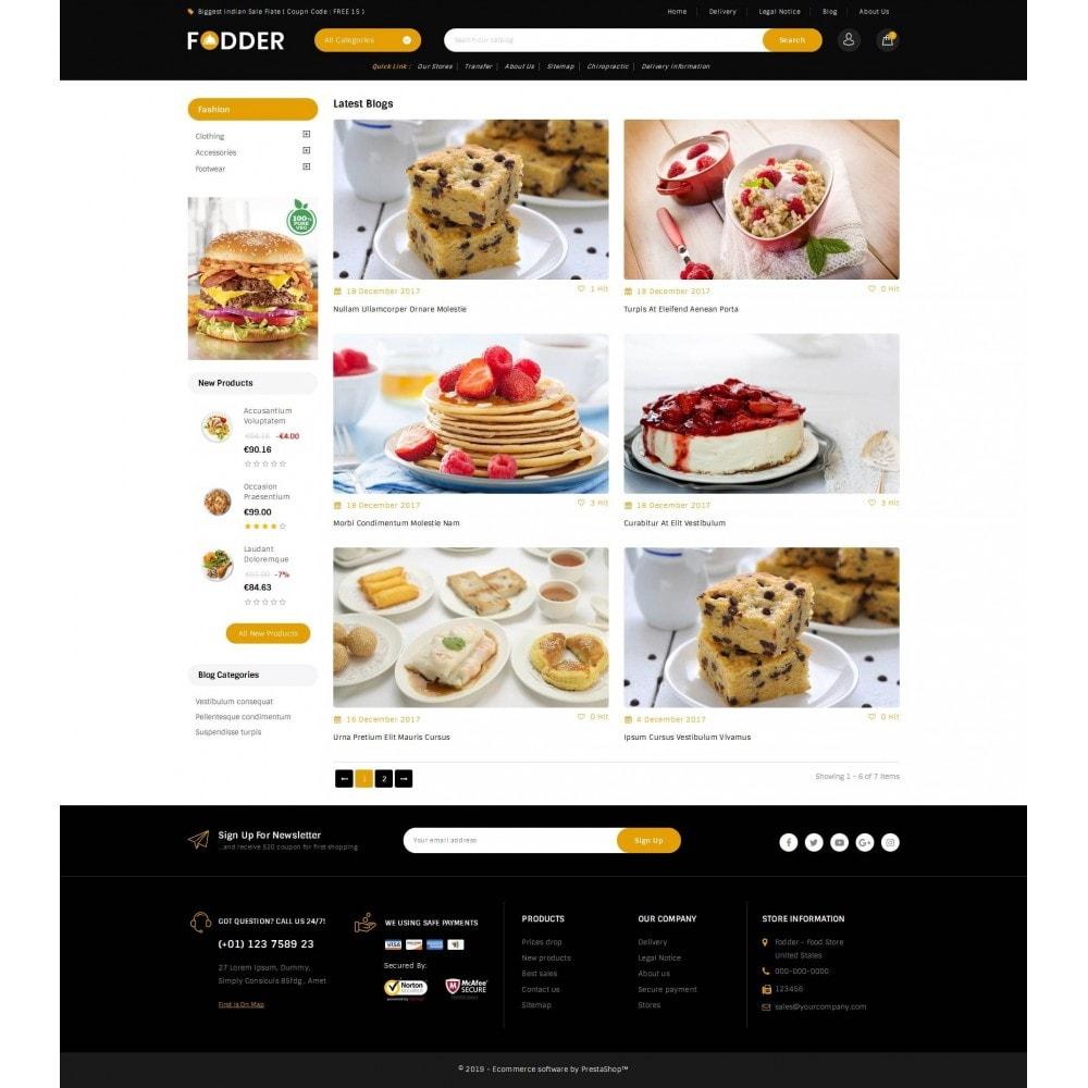 theme - Eten & Restaurant - Fodder - Online Restaurant Store - 9
