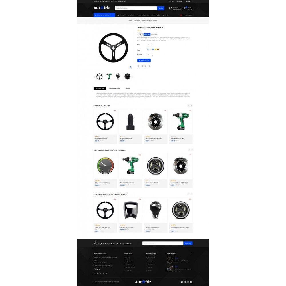 theme - Carros & Motos - AutoFriz - Spare Parts Store - 4