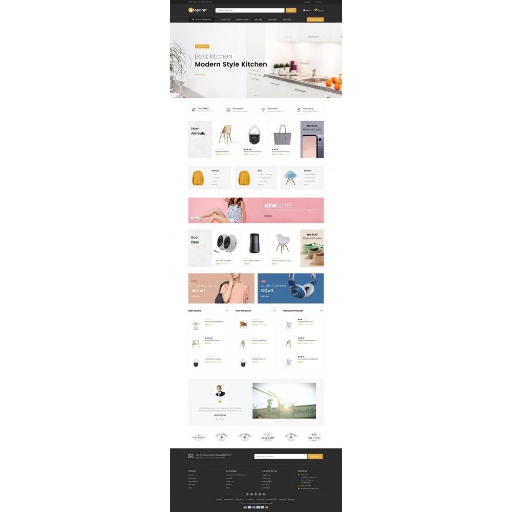 theme - Casa & Jardins - Topcart - Mega Store - 2