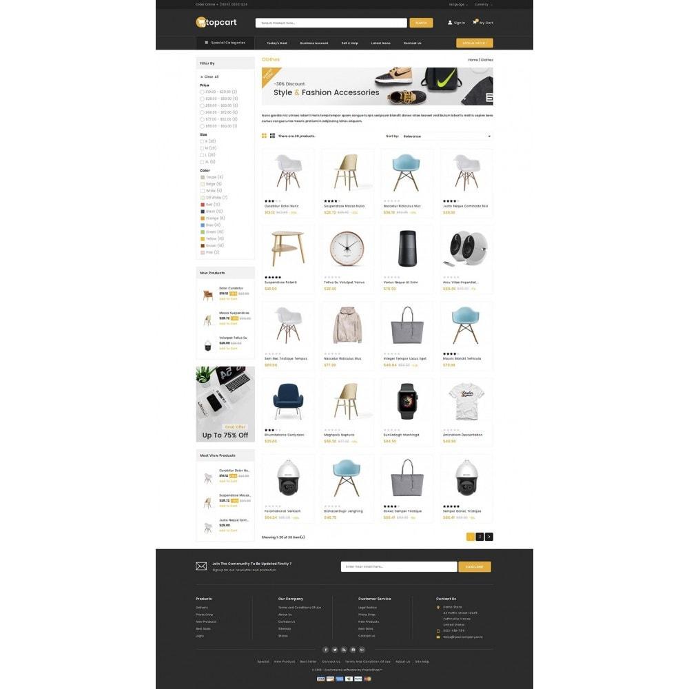 theme - Casa & Jardins - Topcart - Mega Store - 3